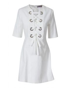 Sportmax Balta White Dress