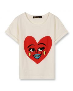 Finger In The Nose New Britney T-Shirt Ecru