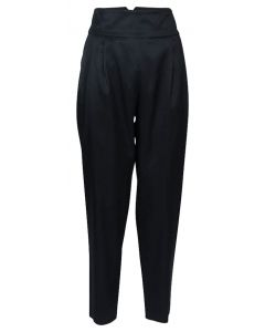 Filippa K Justine Pleated Trousers Black