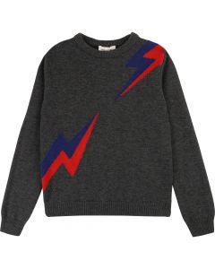 Zadig & Voltaire Brits Punks Pullover Charcoal